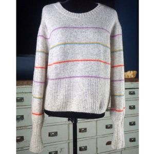 Anthropologie Angie Striped Sweater NWT